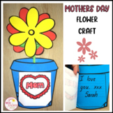 Mother's Day Card Flower Craft