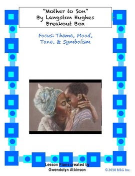 """""""Mother to Son"""" Breakout Box"""