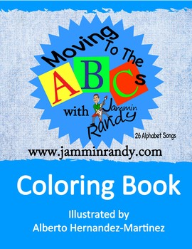 """""""Moving to the Alphabet"""" Coloring Book"""