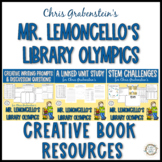 """Mr. Lemoncello's Library Olympics"" ELA & STEM Bundle"