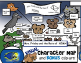 """Mrs. Frisby"" Visual Character Map (with BONUS Clip-Art!)"