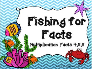 {{Multiplication Go Fish/Memory Match Game (Factors 4,5,6)}}