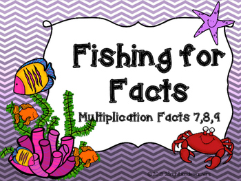 {{Multiplication Go Fish/Memory Match Game (Factors 7,8,9)}}
