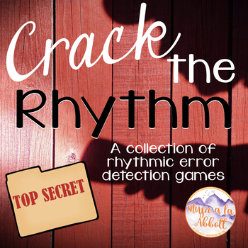 Crack the Rhythm (detective); 10 interactive rhythmic erro