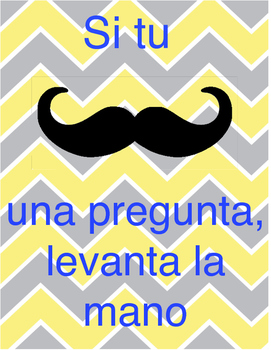 """Mustache"" a question - Spanish Version"