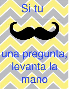 """Mustache"" a question - Spanish Version"