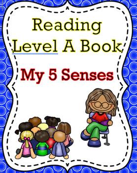 """My 5 Senses"" Level A Book"