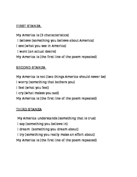 """My America"" Poem"