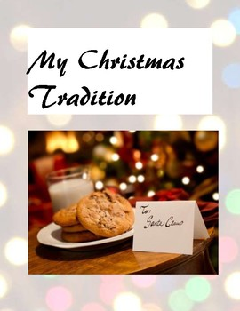"""My Christmas Tradition"" poem"