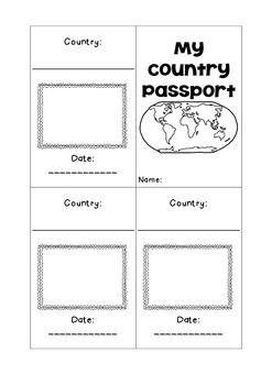 { My Country Passport - England }