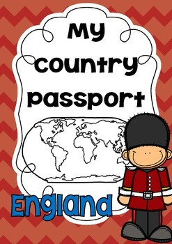 { My Country Passport - England }