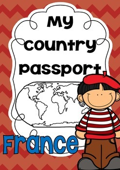 { My Country Passport - France }