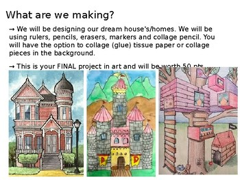 """My Dream Home"" Elementary & Middle School Drawing Project Presentation"