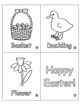 """My Easter Book"" PK-1 Coloring Book"