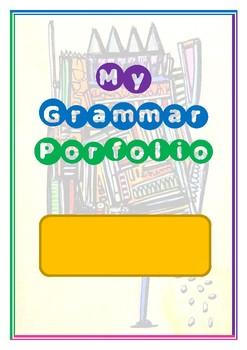 My Grammar Portfolio - grammar parts of speech and sentences interactive