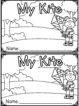 """My Kite"" (A Spring Emergent Reader Dollar Deal)"