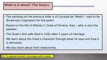 poetic devices in my last duchess
