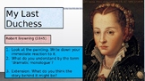 'My Last Duchess' By Robert Browning Poetry Analysis