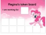 """""""My Little Pony"""" token board"""