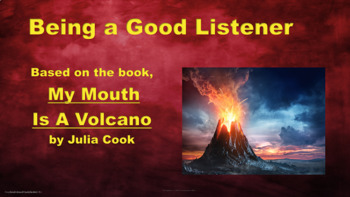 """""""My Mouth Is A Volcano"""" Lesson w 2 Video links & Activity"""