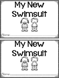 """""""My New Swimsuit"""" A June/Summer Emergent Reader and Response Dollar Deal"""