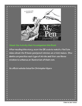 """My Pen"" - GA Picture Book Award Nominee 2016-2017"