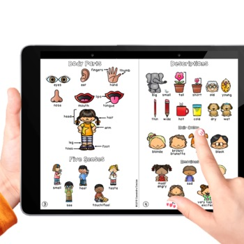 My Picture Dictionary with Beginning ELL Vocabulary Activities