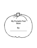 """My Pumpkin Fact Book"""