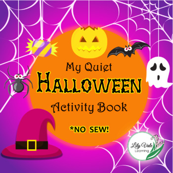 """My Quiet Halloween Book"" from LilyVale Learning-Busy Book for Early Childhood"