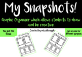 'My Snapshots' - can be used with any focus - holiday retell/all about me/ topic