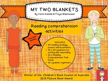 """Australian Multiculturalism - """"My Two Blankets"""" 4H reading strategy + more."""