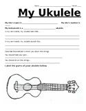 'My Ukulele': Beginner Ukulele Worksheet, Study and Curriculum