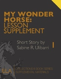 """My Wonder Horse"" by Sabine Ulibarri: Reading Engagement/C"