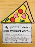 """""""My ___ Stole a Pizza My Heart"""" - Valentine's Day Writing"""