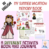 Summer activity book and journal !