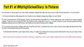 #MyHighSchoolStory: A Reflection Activity for Seniors