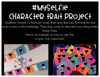 #MySelfie Character Traits
