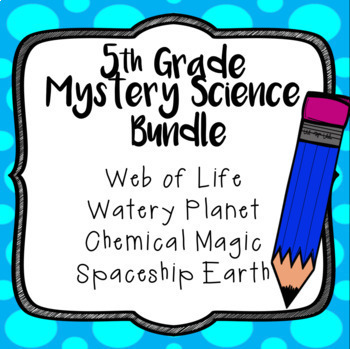 Mystery Science BUNDLE, 5th grade, Full Year with 23 Assessments
