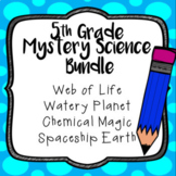 Mystery Science BUNDLE, 5th grade, Full Year - 23 Assessments/Quizzes - Editable