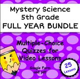 Mystery Science FULL YEAR 5th grade, Google Form & pdf  Vi