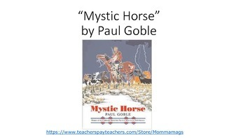 """Mystic Horse"" by Paul Goble (Treasures)"