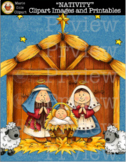 """NATIVITY"" [Marie Cole Clipart]"