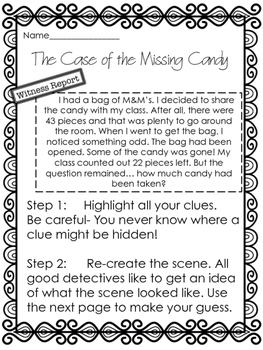 Finding the Unknown in Equations- A Detective Case!