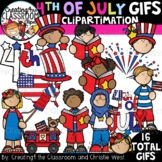 **NEW- 4th of July GIFs Clipartimation {Animated Clipart}