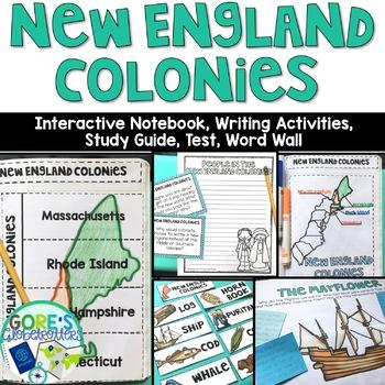 New England Colonies Activities