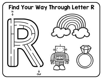 *NEW* Alphabet Mazes