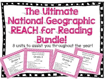 **NEW BUNDLE**  National Geographic Reach for Reading Grade 5!