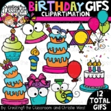 **NEW- Birthday GIFs Clipartimation {Animated Clipart}