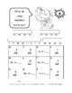 FREE Monster Riddles  Grade 3 Math  FREE  Color Monsters  CORE  Skills