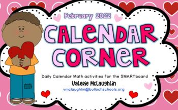 **NEW February 2019 FREEBIE** Daily SmartBoard Number Corner - Common Core